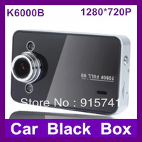 "2014 Newest K6000 1280x720p Car DVR 2.7"" LCD Recorder Video Dashboard Vehicle Camera Plastic Case Drop shipping"