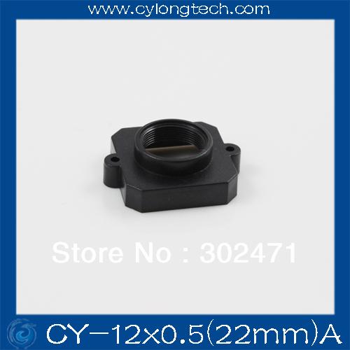 CCTV Camera Board Lens Mount COMS M12 (22mm screw distance )+ 1/lot screw(China (Mainland))