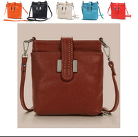 Natural Genuine leather women handbags Casual Shoulder Bags Women Purses Cross-body 5 Colors women Messenger BAG Free Shipping