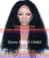 NOTICING!!! NEW STYLE!! Jerry curl Top quality  NO shedding Indian human hair cheaper  Front lace wig virgin hair