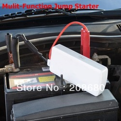 Multi-Function Jump Starter can be used for car and mobile phone notebook PDA MP3 MP4 with Leather bag Freeshipping AAA(China (Mainland))