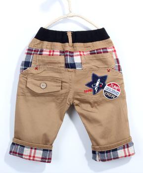 Free shipping!2014 Summer Casule Boy Five Star Cotton Pants