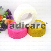 "1""x5yds Cohesive Wrap Coflex Tender tape Non woven cohesive Self-Adherent Wrap Bandage  (China (Mainland))"