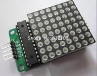 10pcs/lot  MAX7219 dot matrix module module DIY kit module MCU control module  for Arduino ,free shipping