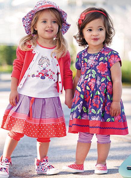 Toddlers lovely flower pattern baby girl princess dress christmas