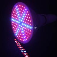 4pcs 15W E27 RED BLUE 168 LEDS Hydroponic LED Plant Grow Lights 220v grow lamp