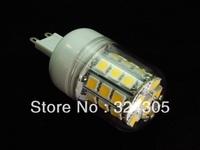 Wholesale G9 5W 30 SMD 5050 LED  High Power Light White/ Warm white Bedroom light spot lamp Allimium Body,Long life 5pcs/Lot