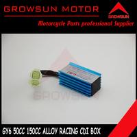 Racing Alloy A/C CDI 4+2 Pin  for Chinese GY6 50CC 125CC 150CC Motor Scooters, ATV, Taotao, Roketa. Peace, Yiben, Nst