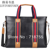 2013 autumn model Guaranteed 100% Cowhide man bag casual bag genuine leather handbags Men Briefcase bag Free shipping