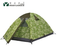 Authentic Mobi Garden double layer 3 person aluminum pole Tent for family outdoor camping Field Trip 3