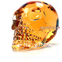 Hot selling (1 pieces/ lot) 500ml Crystal Head Vodka Skull Bottle With Retail Package
