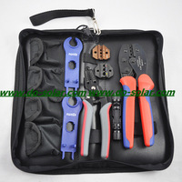Free Shipping--economical Solar Crimping Tools Kits for MC3/MC4 Connector with Crimping/Cutting/Stripping plier multifunction