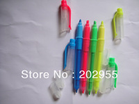 Wholesale highlighter with twin tips , fluorescence pen ,100% Free Shiping Freight ,fast delivery by DHL or FEDEX