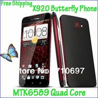 New Arrival 5.0inch X920e Butterfly Phone 1.2GHz MTK6589 Quad Core Android4.2 8G ROM 1280*720 Legend X920 Phone