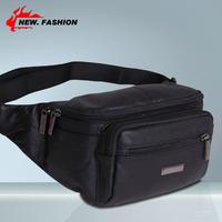 genuine leather waist pack cowhide waist pack internality waist pack cowhide mobile phone bag male waist pack man bag 0009