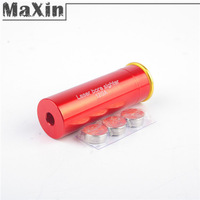 CAL: .12 GAUGE 12GA Cartridge Red Laser Bore Sighter Boresighter Hunting Accessories free shipping