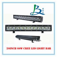 10-30V DC offroad cree led light bar 5w cree led work light 12pcs*5w