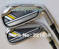 """Hot 2013 New golf Clubs R-bladez irons golf set(4-9P.A.S 9pcs) graphite shaft """"or""""Steel shaft EMS Free shipping"""