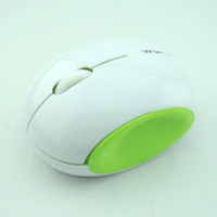 Newest cute no light WIRELESS MOUSE  /  2.4G environmental wireless mouse/optical mouse  white & BLACK