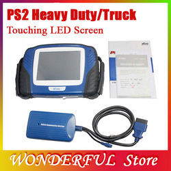 Professional 100% original X-TOOL PS2 for Truck Diagnostic tool PS 2 Heavy Duty Bluetooth P52 Update via Internet(China (Mainland))