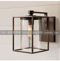 American brief single head wall lamp corridor wall lamp outdoor light