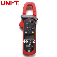 UNI-T UT203 Digital Clamp Multimeter Ohm DMM DC AC Current Voltmeter 400A