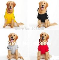 2015 Cute Big Dog Clothes Large Pet Sportwear Fashion Hoodie Jumper Coat Size(3XL-9XL)Promotion
