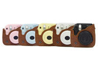 Free shipping new Fujifilm Instax Mini 8 Camera Leather Case Bag with Shoulder Strap