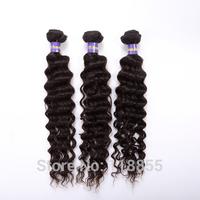 Peruvian virgin deep wave hair weave 4bundles 400g black cheap unprocessed loose deep wave curly hair extensions free shipping
