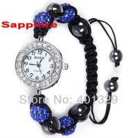 Free Shipping! Shambhala Bracelet Watch Wholesale 3pcs/lot Min.order is $15 Gift Battery