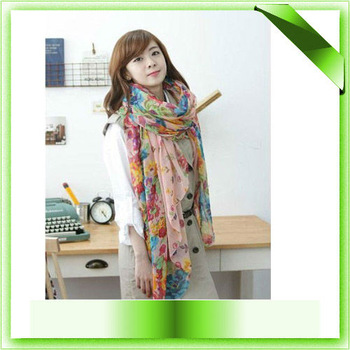 2013 fashion style scarves joker fields and gardens shivering scarves 100% voile scarves pashmina free shippin
