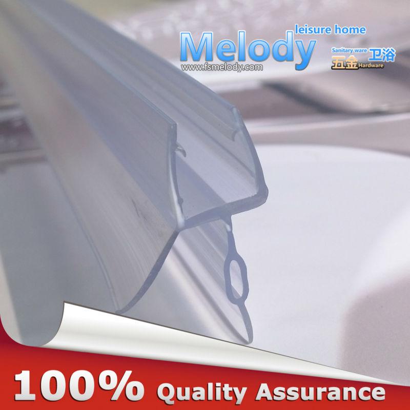 Me-309d2 Bath Shower Screen Rubber Big Seals waterproof strips glass door seals length:900mm Gap:10-17mm(China (Mainland))