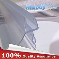 Me-309d2 Bath Shower Screen Rubber Big Seals waterproof strips glass door seals length:900mm Gap:10-17mm