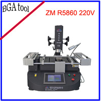 Freeshipping 220V Zhuomao ZM R5860 BGA Rework Station for Laptop Reapir Shop