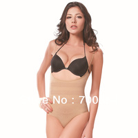 New Arrival Sex Women Far Infrared Ray Firm Control Slimming Body Shaper Seamless Tourmaline Shapewear Undewear Bodysuit