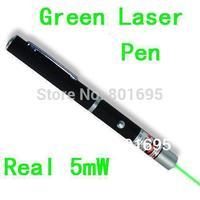 FDA certification Green Laser Pointer Pen 5mW  532nm teacher pen laser pen christmas party gift Free fedex DHL shipping