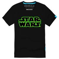 Magic star wars fashion print casual male 100% cotton short-sleeve T-shirt$ 13.5 Free shipping
