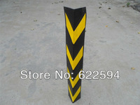 Rubber retaining wall highly reflective rubber corner protector corner protector underground parking garage supplies