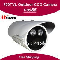 "New Arrival 1/3"" Sony EFFIO-E 700TVLine 2*LED Arrays with OSD Menu outdoor/indoor waterproof cctv camera .Free shipping"