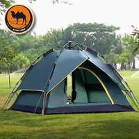 Original Sam Camel tent 3-4  person double layers 4 seasons using, instant automaticaly open, camping anywhere, free shipping