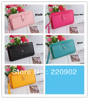 Free shipping ladies' PU Hand bag, fashion handbag,clutch bag,wallet handbags cardbags purse