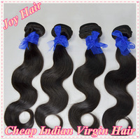 Virgin Indian Body Wave Wavy Hair Weave 4pcs lots,Cheap Human Hair Bulk Extensions,Free Shipping