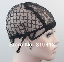 Size S/M/L elect (Hole all in the cap) lace wig cap/ inside inner caps net for wig making wholesale free shipping (China (Mainland))