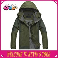 2013 HOT! High quality outdoor male spring and autumn outdoor men jacket 3 color men outwear /free shipping