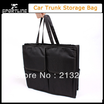 Free shipping Car trunk storage bag Oxford Cloth folding truck storage box Car Trunk Tidy Bag Organizer Storage Box