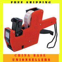 Free shipping Pricing machine label Price Tag Tagging Marking Pricing Gun Labeler