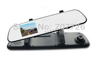 New 1080P Car Camera + Motion detection + night vision + HD Car DVR Video camera  in Rearview Mirror NC-D510D