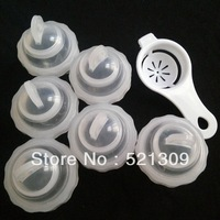 Free shipping!egg Boiler Hard-bolled Eggs Without Shell ( 6pcs/set ) Egg Boiler with specification, 5set/lot,as seen on TV