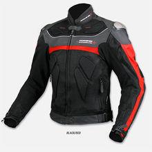 free shipping Komine JK061  top high quality titanium alloy automobile race ride clothing motorcycle clothing  BLACK white(China (Mainland))