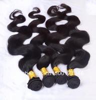 Wholesale hair Free shiping Brazilian Body wave virgin remy hair ali queen hair products  10pcs lot bulk hair